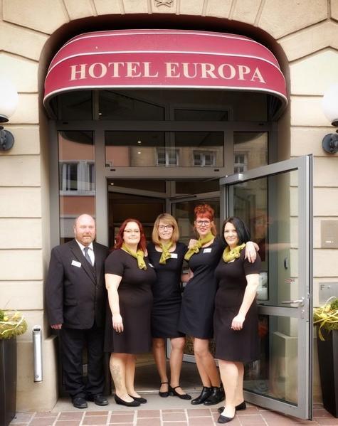 the hotel europa bamberg team